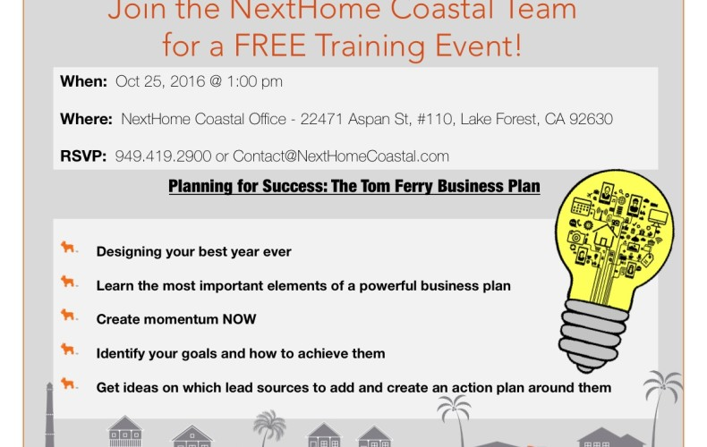 Training: RE Business Planning